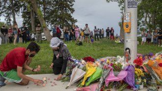 Memorial for family killed by truck
