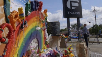2017: A year anniversary after the tragic shooting at Pulse Nightclub in Orlando.