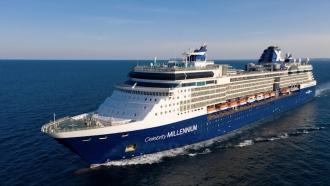 Celebrity Millennium cruise sailing