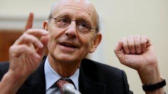 Justice Stephen Breyer in 2009