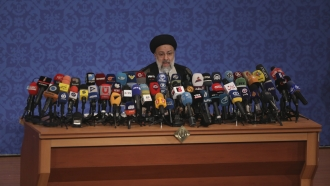 Ebrahim Raisi, a candidate in Iran's presidential elections