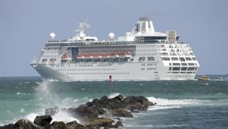 File Photo of Royal Caribbean Cruise Ship