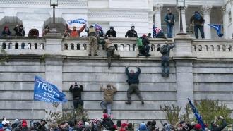 The U.S. Capitol on Jan. 6, 2021.