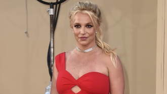 Britney Spears on the red carpet in 2019.