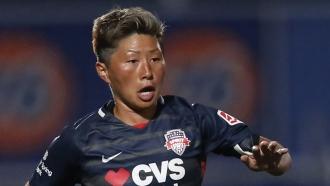 Washington Spirit forward Kumi Yokoyama.