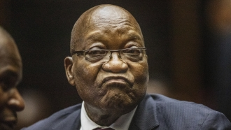South African Court Orders Ex-President To Jail For Contempt