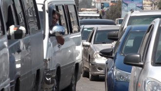 Long lines for gas in Beirut