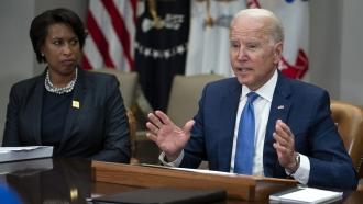 President Biden Giving Voting Rights Speech In Philadelphia
