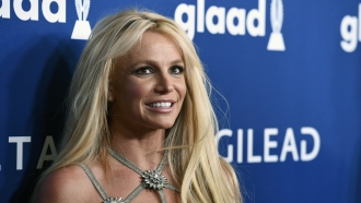 Britney Spears at the 29th annual GLAAD Media Awards in Beverly Hills, Calif.