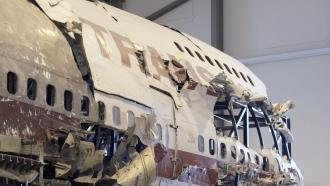 TWA 800 Wreckage