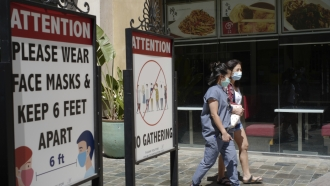 Los Angeles Mask Mandate Reinstated Amid Surge In COVID Cases