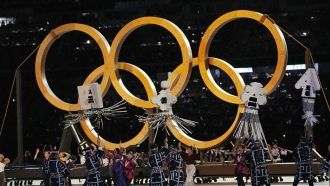 Opening Ceremony Kicks Off Delayed Olympic Games