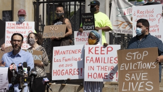 Millions At Risk Of Eviction As Moratorium Ends