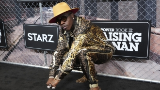"""Rapper DaBaby attends the world premiere of """"Power Book III: Raising Kanan."""""""