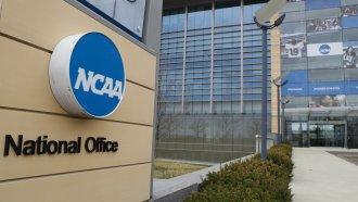 NCAA headquarters in Indianapolis, Indiana.