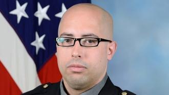 Pentagon Police Officer George Gonzalez