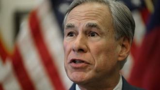 Texas Gov. Greg Abbott speaks at a news conference in Austin, Texas.