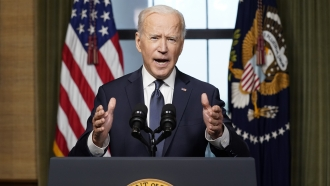 Protesters Urge President Biden To Take Action