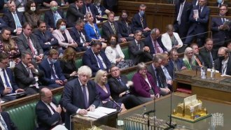 The UK Parliament in session