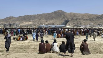 Leaving Afghanistan: Afghans, Americans Face Chaos And Gunfire