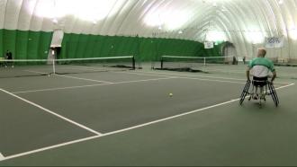 KSHB: Kansas Tennis Player Heads To The Paralympics