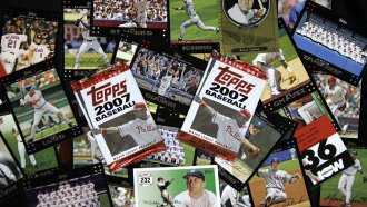 Major League Baseball is ending its 70-year relationship with trading card company Topps.