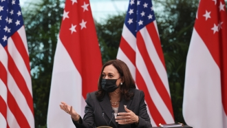 Vice President Harris Rebukes China In Speech On Indo-Pacific Vision