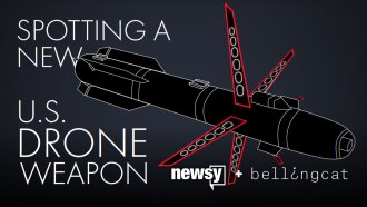 A rendering of what the R9X missile is thought to look like in its complete form.