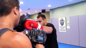 Professional MMA fighter Adil Benjilany