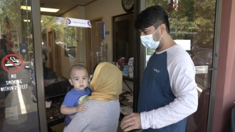Afghan Community In California Scrambles To Help Relatives