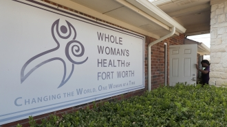 The Whole Woman's Health Clinic in Fort Worth, Texas.