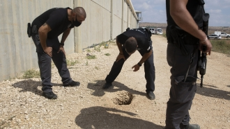 Israel's Army Attacks Hamas Over Prison Break