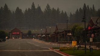 California Fire Threat High Despite Progress Near Tahoe