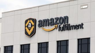 An Amazon Fulfillment warehouse in Shakopee, Minnesota.