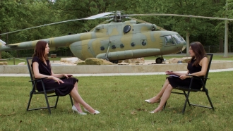 Newsy National Security Reporter Sasha Ingber interviews CIA Museum Deputy Director Janelle Neises.