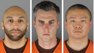 Ex-Cops Accused Of Violating Floyd's Rights Plead Not Guilty