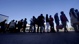 U.S. Launches Mass Expulsion Of Migrants Gathered In Texas Border Town