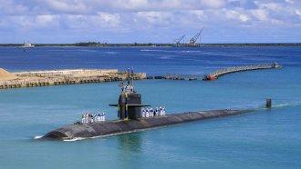 Los Angeles-class fast attack submarine USS Oklahoma City