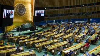 The 76th Session of the United Nations General Assembly.