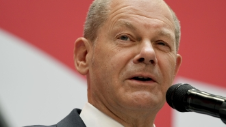 Olaf Scholz, top candidate for chancellor of Germany's Social Democratic Party.