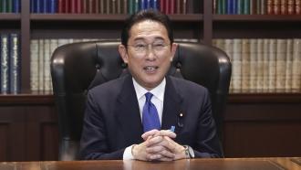 Japan's former Foreign Minister Fumio Kishida.