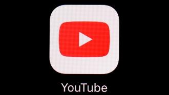 The YouTube app logo