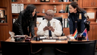 """Actors from the television series """"Brooklyn Nine-Nine."""""""