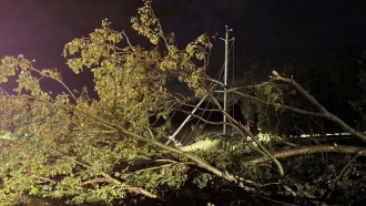 Several reported tornadoes have ripped through Oklahoma, causing damage late Sunday into early Monday morning.
