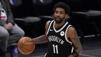 Brooklyn Nets guard Kyrie Irving.