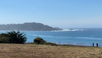 The Northern California coast