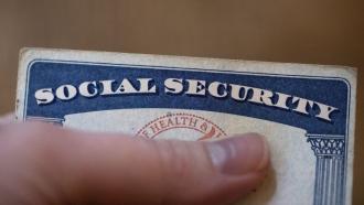 A Social Security Card