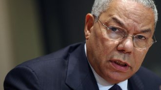 Colin Powell as Secretary of State