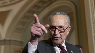 Senate Majority Leader Chuck Schumer of N.Y.