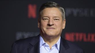 Netflix CEO Ted Sarandos.